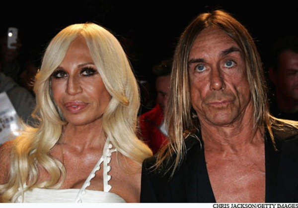 iggy pop and donatella versace