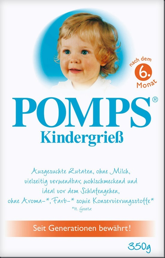 Pomps-Kindergrieß